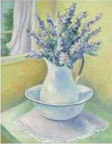 Pitcher with Lilacs, item 18